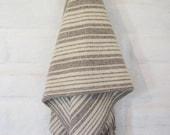 SAND DUNE 100% Pure Virgin Wool Blanket/Throw/Sarape