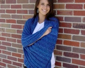 Meditation Prayer Shawl - Saphire