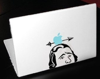 William Tell Decal Apple Macbook Laptop