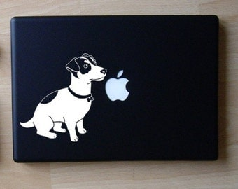 Jack Russell Terrier Decal Macbook Laptop