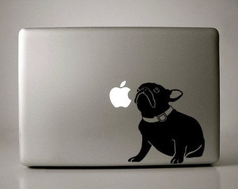 Jenny the French Bulldog Decal Macbook Apple Laptop