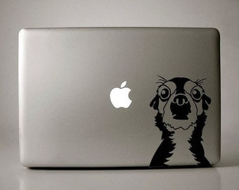 Oscar the Short-haired Chihuahua Decal Macbook Laptop