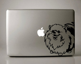 Pomeranian Decal Macbook Laptop