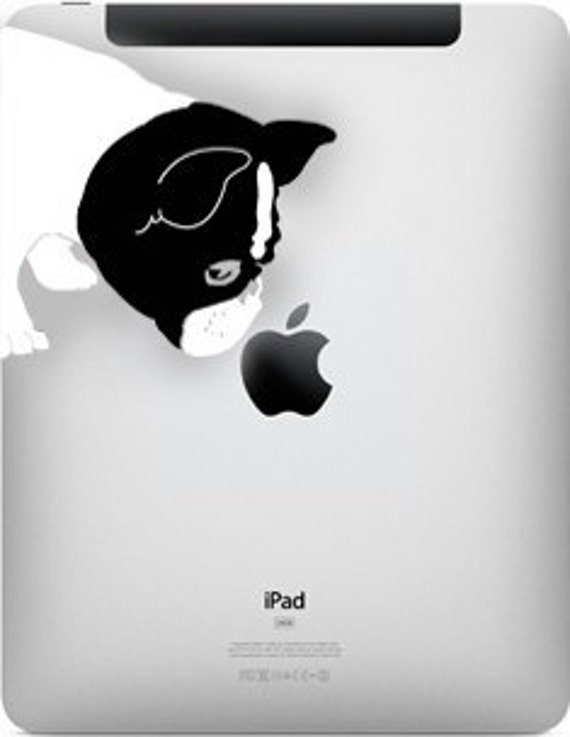 Bella French Bulldog Sniff Decal for all iPads