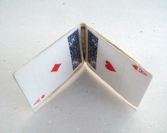Playing Card Wallet (BIFOLD, POCKET ACES)