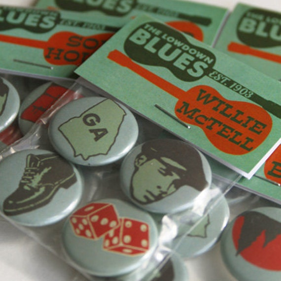 Blind Willie McTell - Blues Music Badges