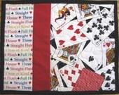 Playing Cards Mug Rugs - Set of 2