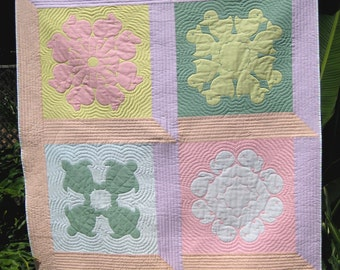 Hawaiian Baby Animals Quilt