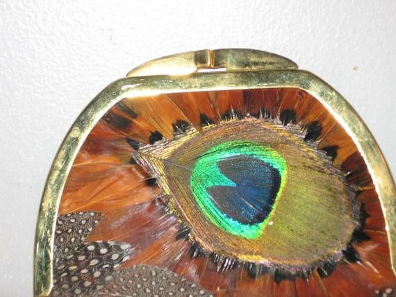 Peacock Change Purse