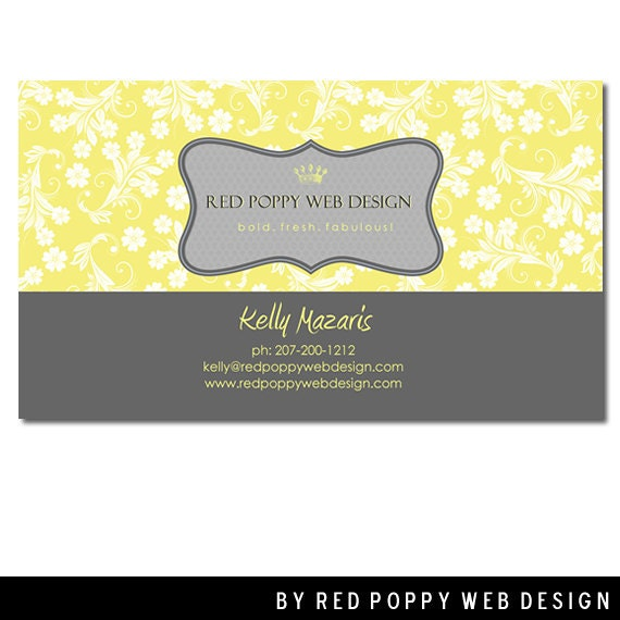 Premade Business Cards Digital Print at Home by