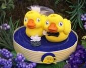 Rubber Ducky Cake Topper