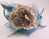 Flower and Crystal Headband