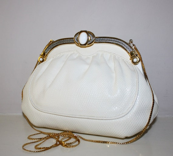 Vintage FINESSE LA MODEL Clutch Karung Convertible Handbag