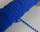 Royal Blue Ric Rac/ Rick Rack Ribbon 1/4 inch