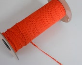 Dark Orange Ric Rac Trim 1/8 inch