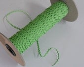 Lime Green Ric Rac Trim 1/8 inch