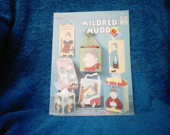Mildred Muddle Plastic Canvas Pattern Book