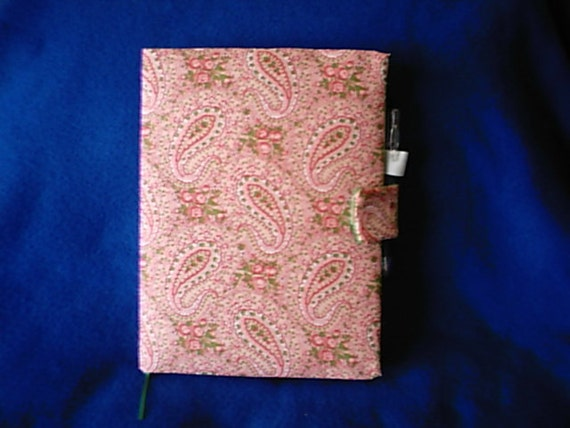 Writing Journal Pink Paisly Victorian