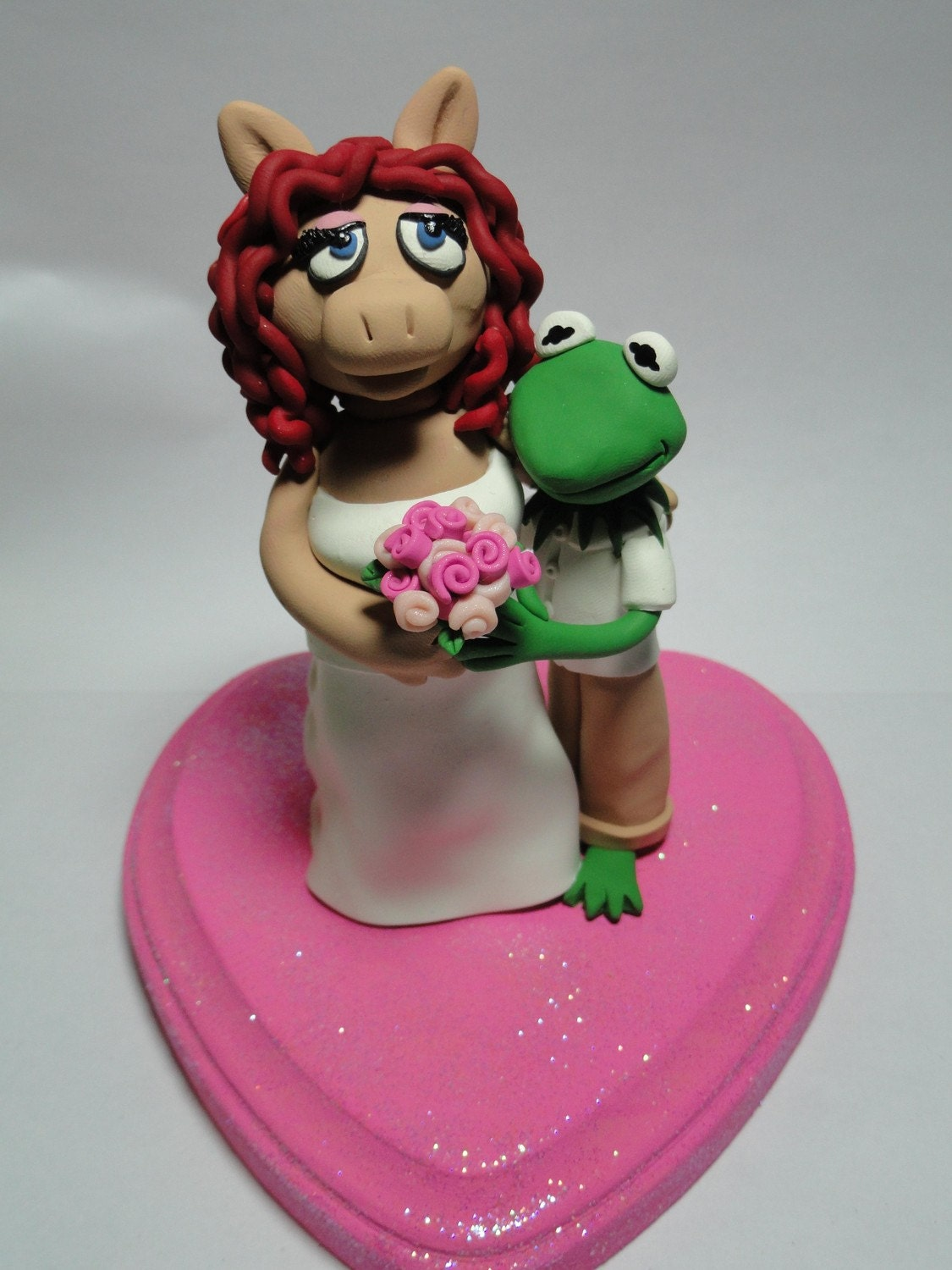 Piggy Wedding Cake