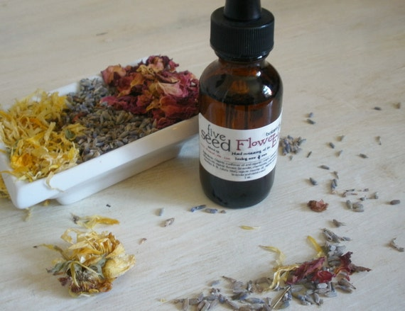 Flower Elixir - soothing facial oil