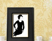 Coco Chanel - Print from Original Painting - Beautiful Gift