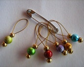 Stitch markers - jewellery for your knitting.....