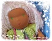Luna - waldorf style cloth doll by Veelana
