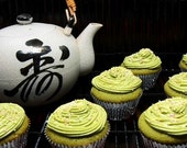 1 DZ. Green Tea Cupcakes