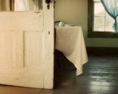 Country Kitchen Photograph - Amish, farmhouse, rustic, white, simple, 8x10 - FirstLightPhoto