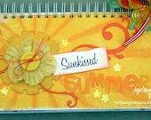 PDF Instructions - Sunkissed Summer 6x12 Mini Book