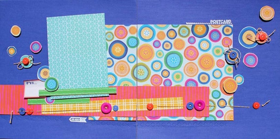 Project 12x12 Class Kit - Sewing - 6 Layouts