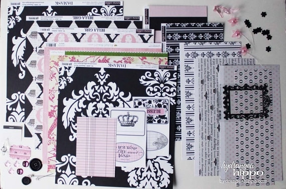 DIVA Paper Crafting Kit - LIMITED Edition - April 2012 Monthly Kit
