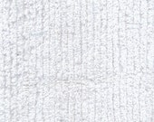 Cotton Chenille White 1 Yard