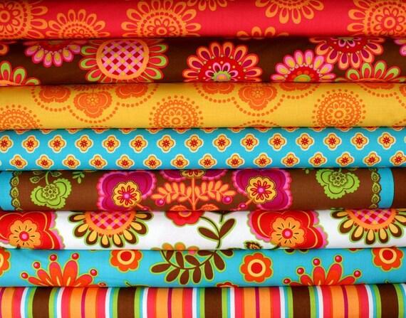 Ooh La La by Pillow and Maxfield for Michael Miller Fabrics Fat Quarter Bundle