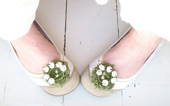 last pair . come what may . lily of the valley nest shoe clips