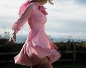 Vintage 60s Sweetheart Secretary Dress Custom Reproduction Any Size Color & Length