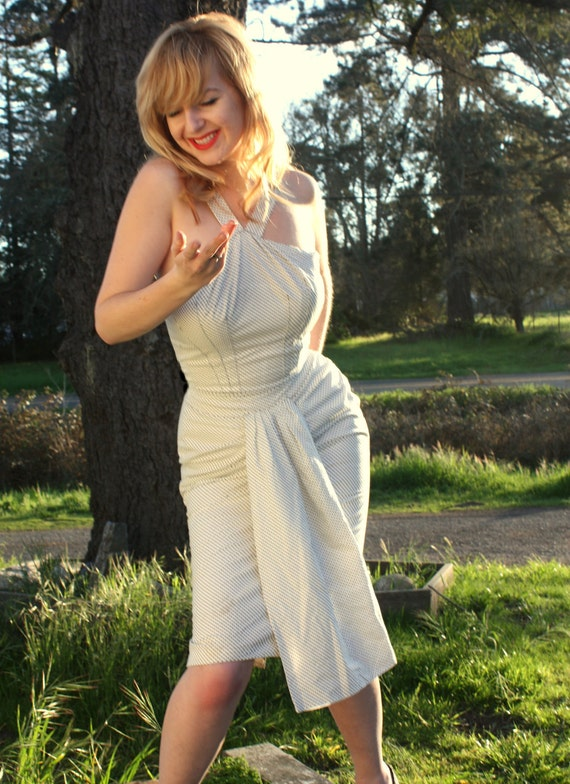 Marilyn Monroe's Polkadot Seven Year Itch Wiggle Dress Reproduction