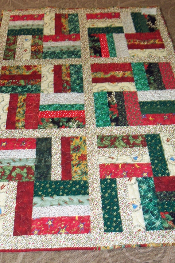 Christmas in July Patchwork Quilt