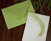 A Leafy Card