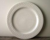 Large White Syracuse China Plate Platter Restaurant Ware