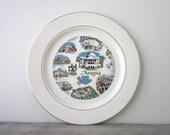 Arizona Souvenir China Travel Plate  by Knowles