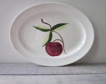 Kitschy Apple Platter