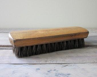 Vintage Wood Handle Shoe Polish Brush