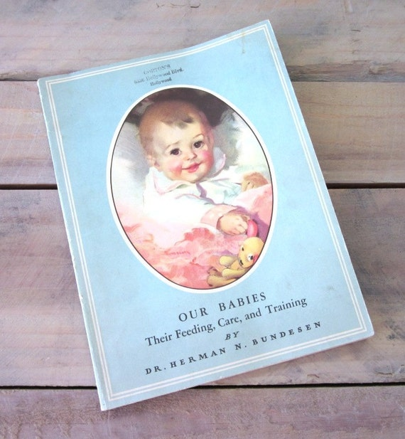 Vintage Baby Instructional Book 1942