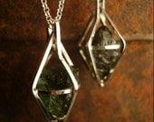 Moldavite Pendant--Special Listing for Erin