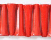 Vintage 1940's Red Bakelite Handles