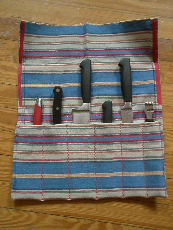 hipster knife roll chef 39 s gig bag. Black Bedroom Furniture Sets. Home Design Ideas