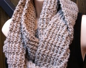Easy Peasy Infinity Scarf Crochet Pattern No.502 Easy for YOU to Make Digital Download PDF