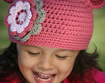 Crochet Hat Pattern -  Easy Peasy Hat Crochet Pattern ALL Sizes Newborn to Adult Ladies Digital Pattern No.101