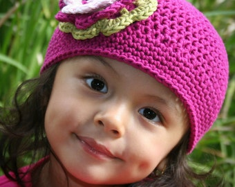 Easy Peasy Crochet Hat Pattern No.101 ALL Sizes from Newborn to Adult Beginner